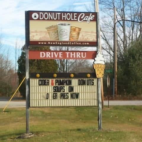 Donut loch