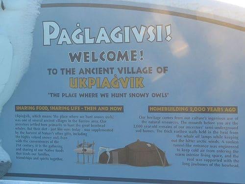 Ukpiagvik Dorf