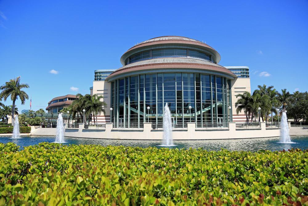 Das Kravis Zentrum für darstellende Künste