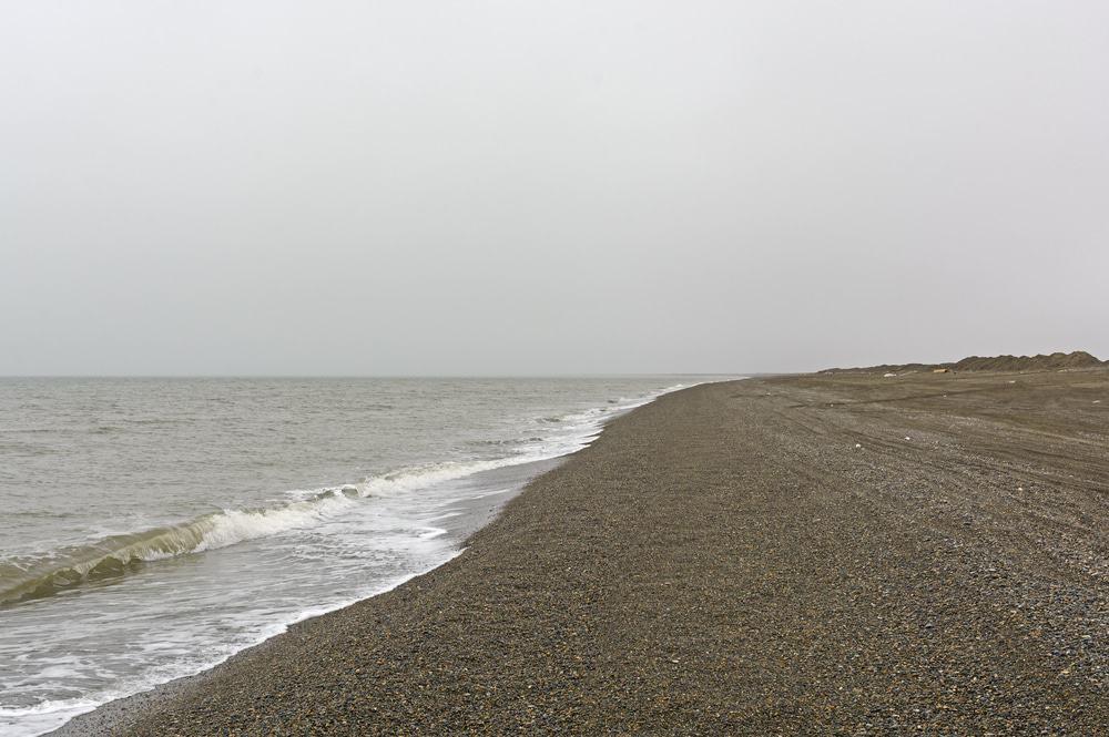 Blick nach Norden zu Point Barrow