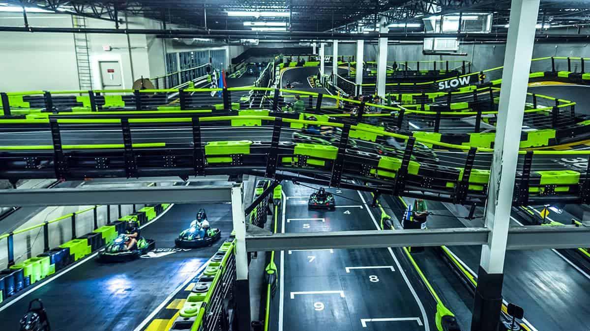 Andretti Indoor Karting und Spiele