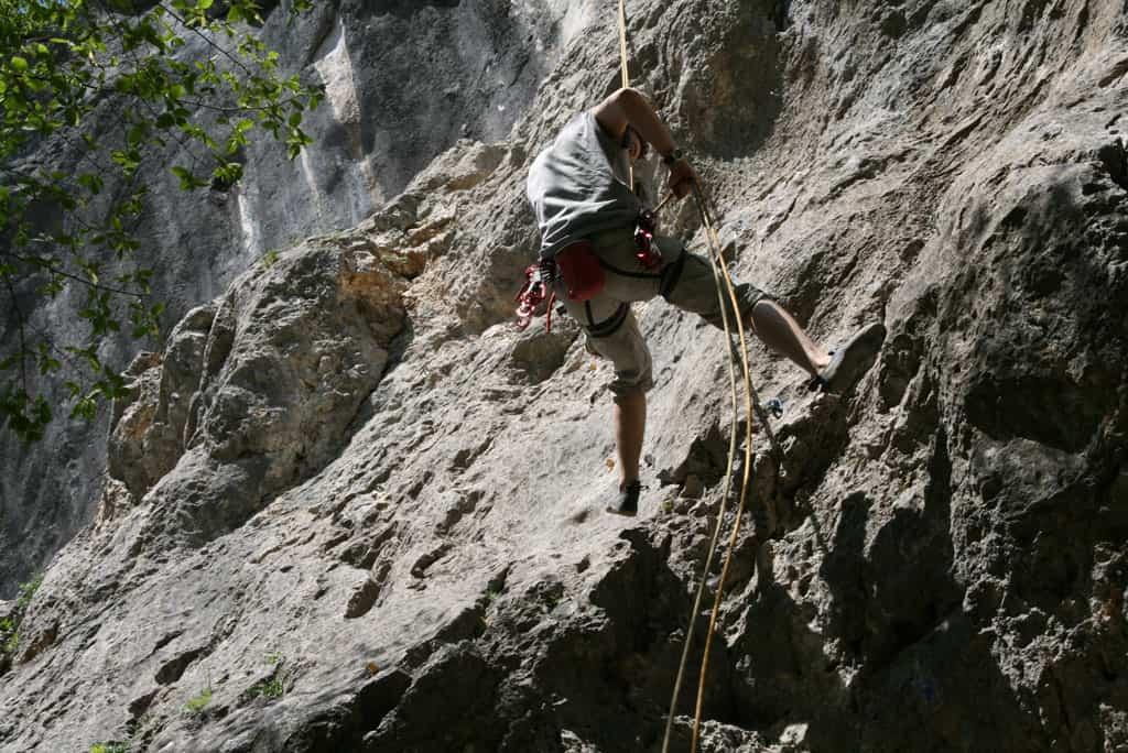 Den Kanzianiberg besteigen