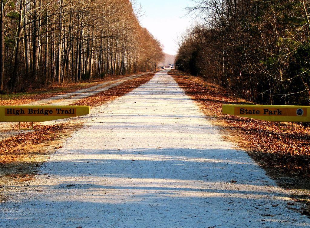 Farmville, Virginia - Hochbrückenpfad-Staatspark