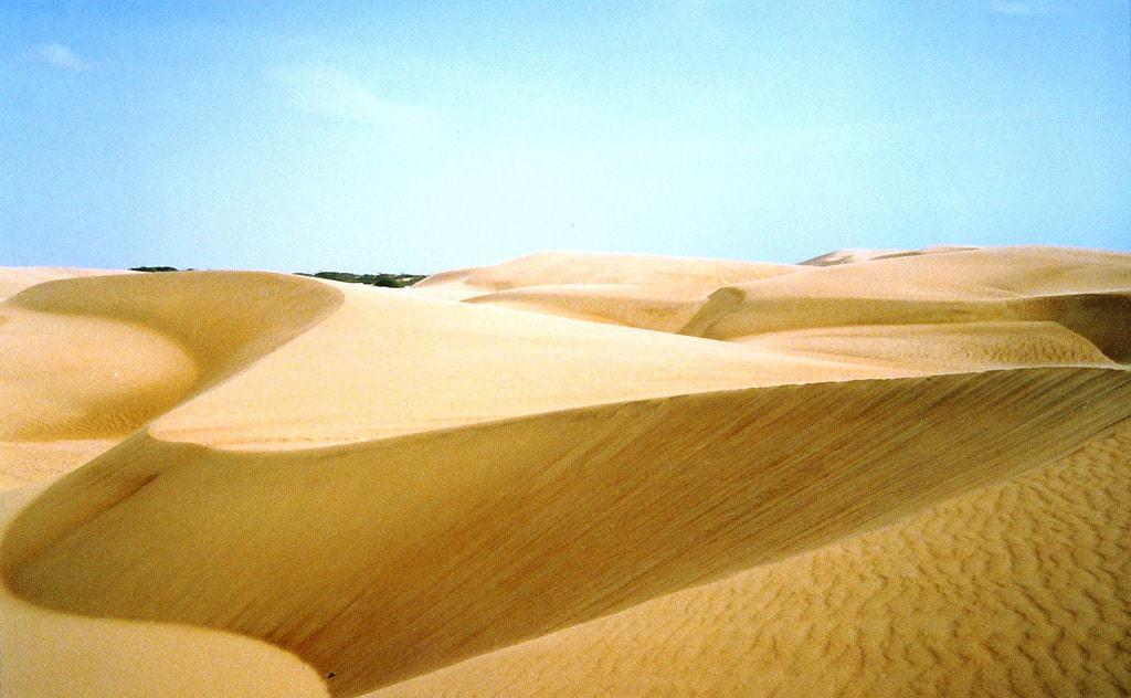 Medanos de Coro Wüste