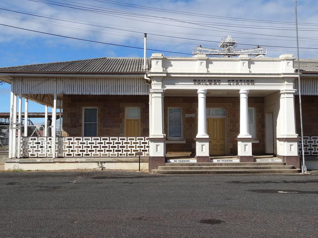 Warwicks alter Bahnhof