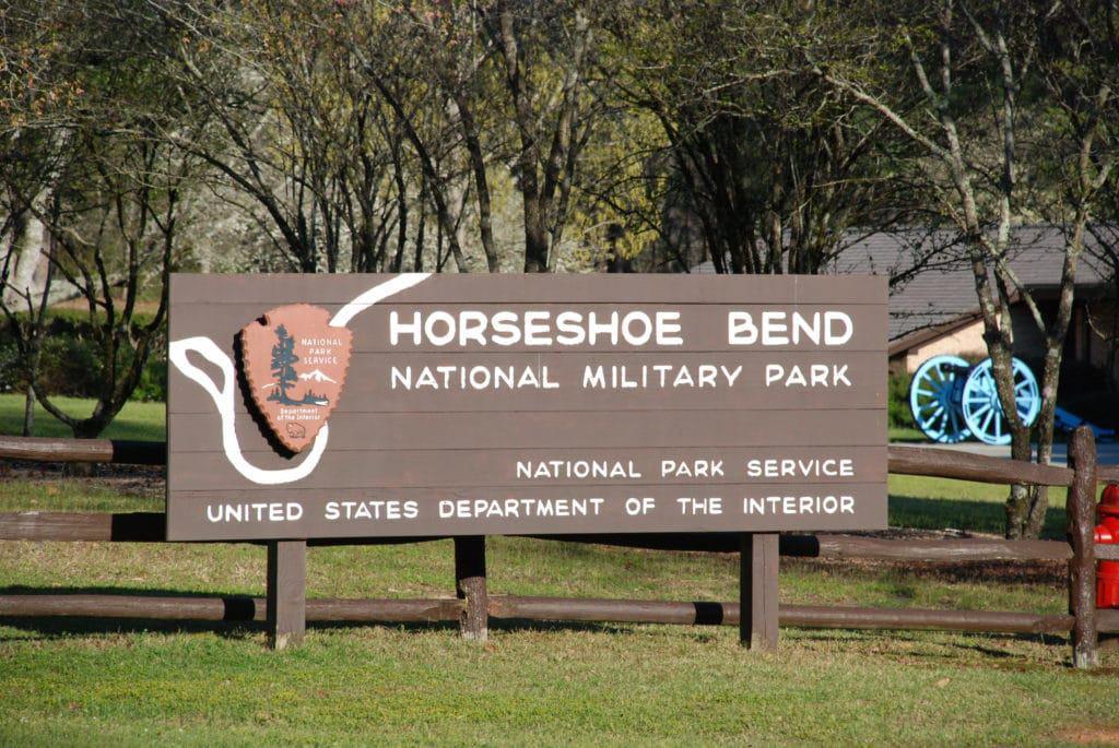 Horseshoe Bend Nationaler Militärpark