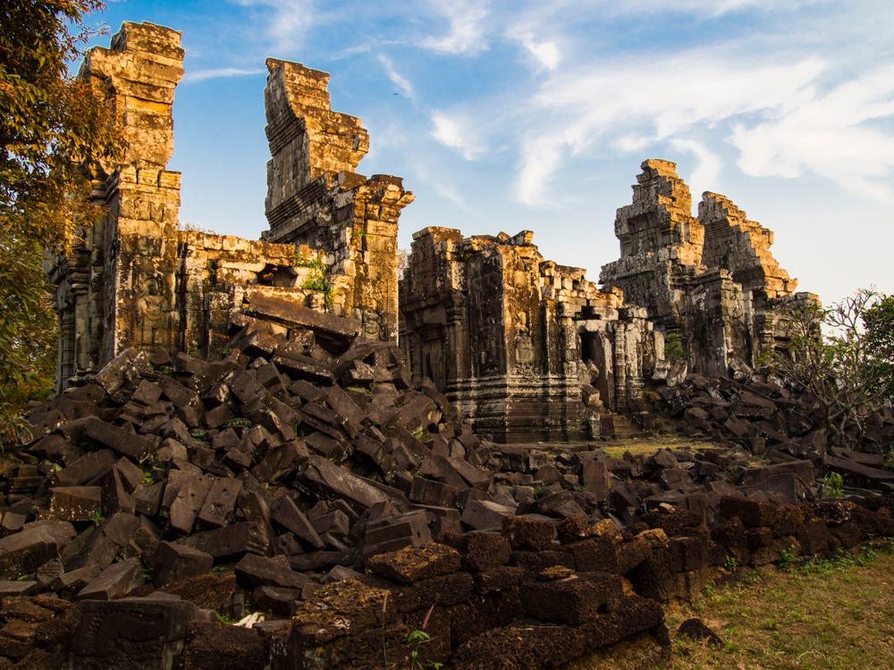 Phnom Bok Tempel