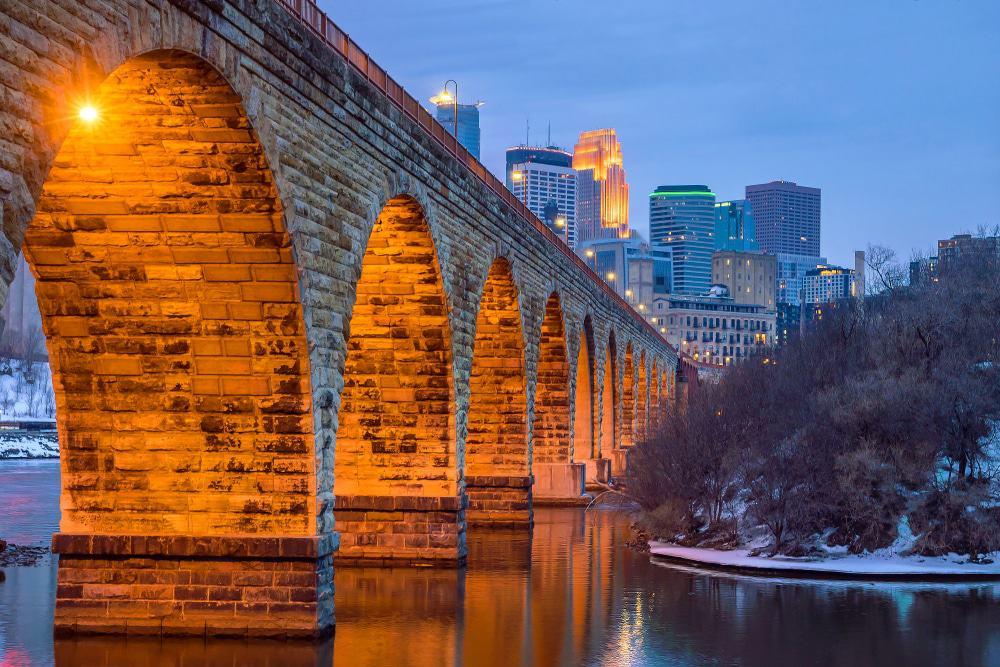 Steinbogenbrücke, Minneapolis