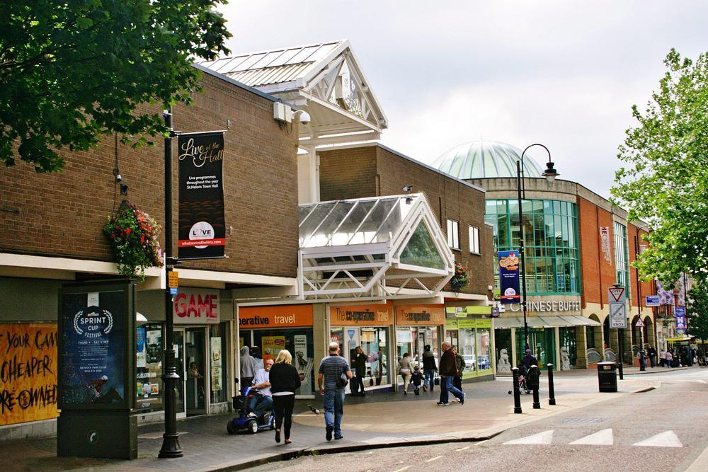 Einkaufszentrum Church Square