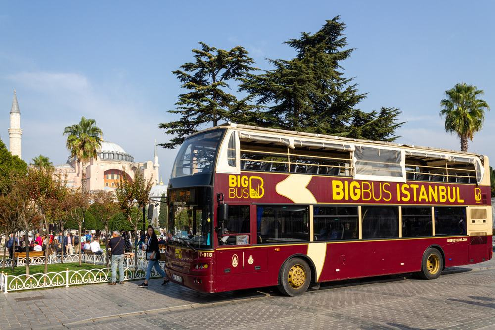 Hop-On Hop-Off-Bus in Istanbul