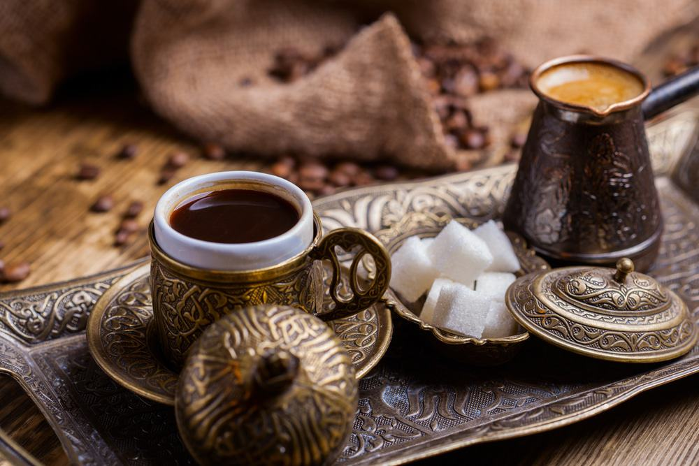 Traditioneller türkischer Kaffee