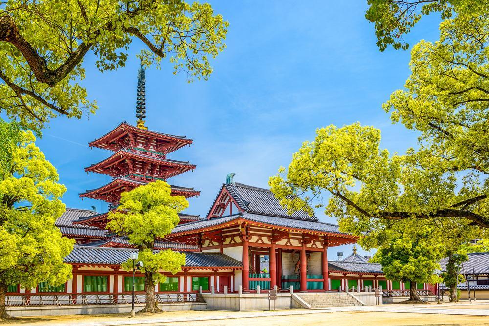 Shitennoji-Tempel, Osaka, Japan
