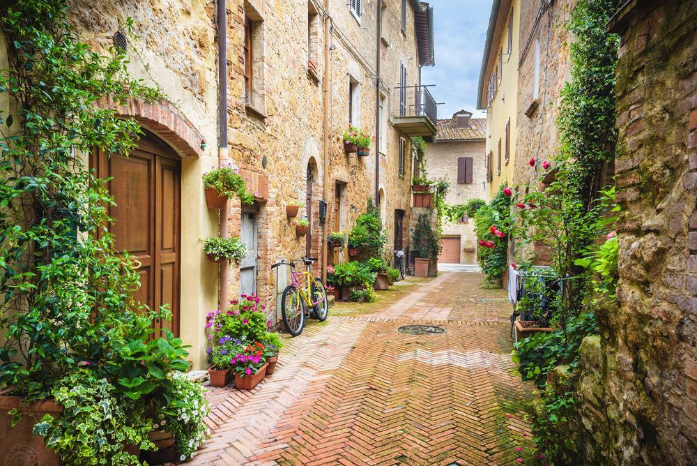 Pienza, Italien