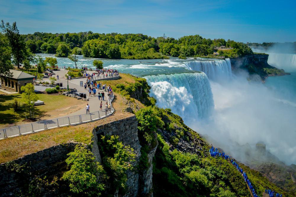 Niagarafälle, Büffel