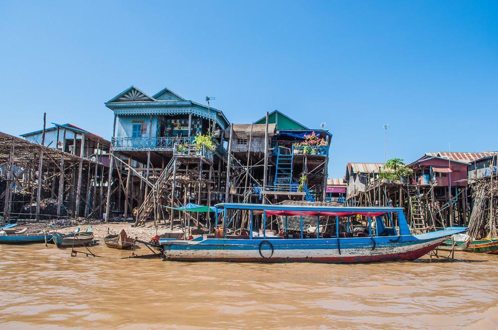 Kompong Phluk, Kambodscha