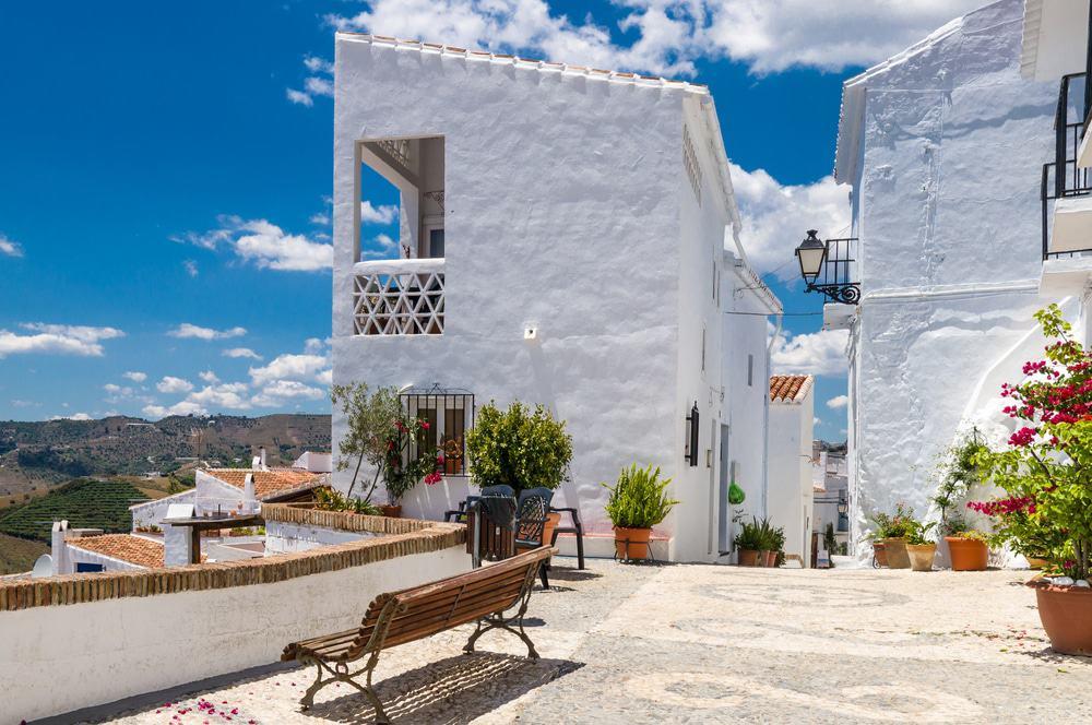 Frigiliana, Spanien