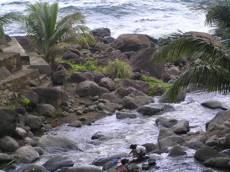 Fluss Agua-Grande