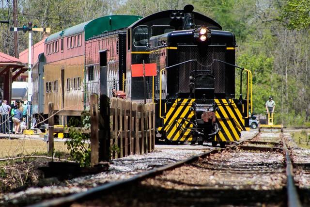 Herz des Dixie Eisenbahnmuseums