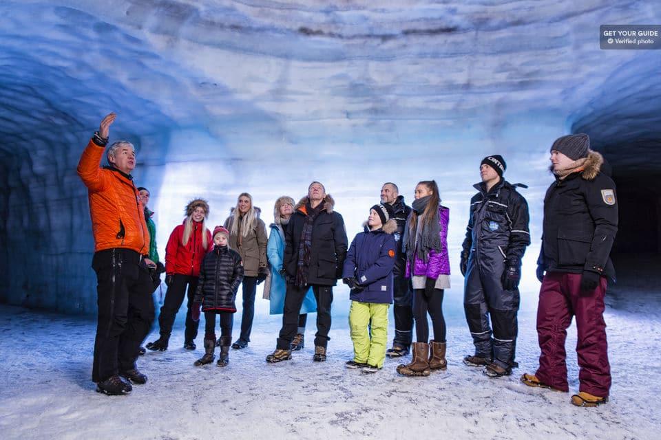 Langjökull Gletscher Eishöhle