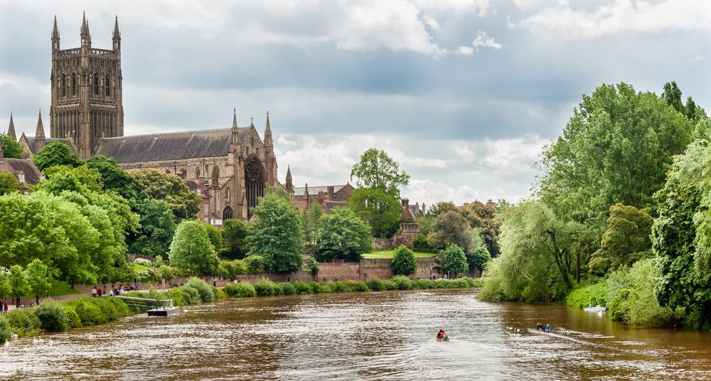 Worcester Kathedrale
